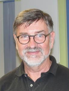 """Dipl. INg. Hans-Peter Schneider, 1. Vorsitzender des VMLL und Konstrukteur der """"Paris Parasol"""""""