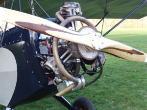 Verner Sternmotor: Läuft in der dritten Version tadellos.