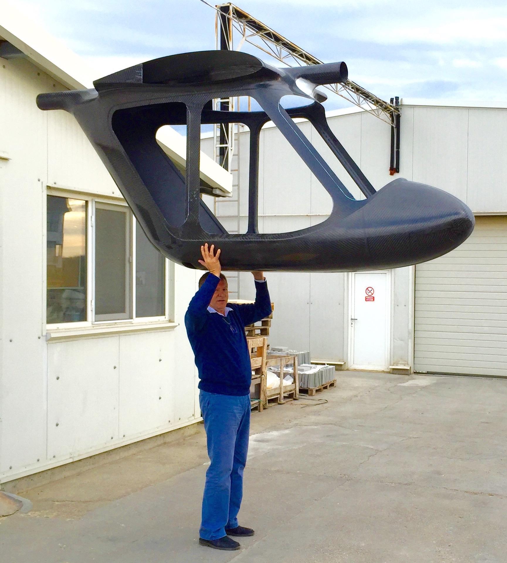 swan 120 carbon das wirklich leichte fliegen. Black Bedroom Furniture Sets. Home Design Ideas