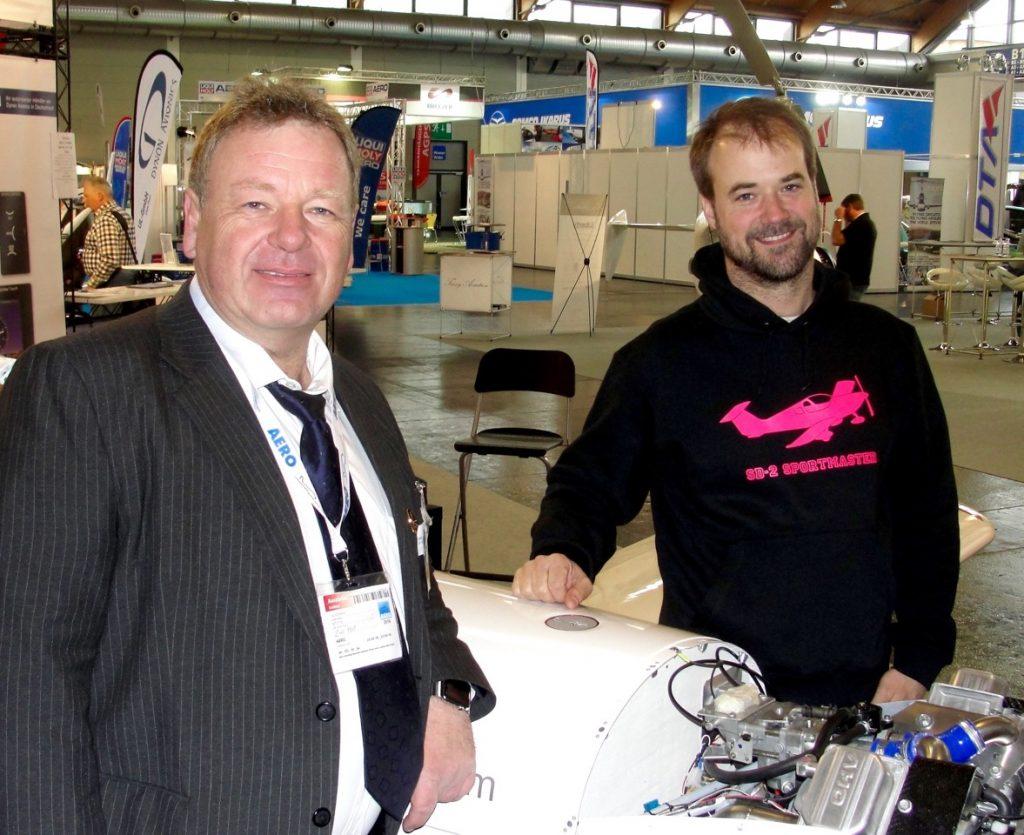Uwe Post und Tim Voss