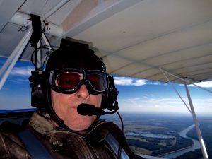 Michael Anderson, Flug Rebell